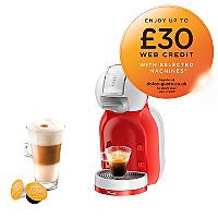 Krups Coffee Maker Asda : NESCAFe Dolce Gusto Mini Me KP120540 Automatic Play & Select by Krups Home & Garden George ...