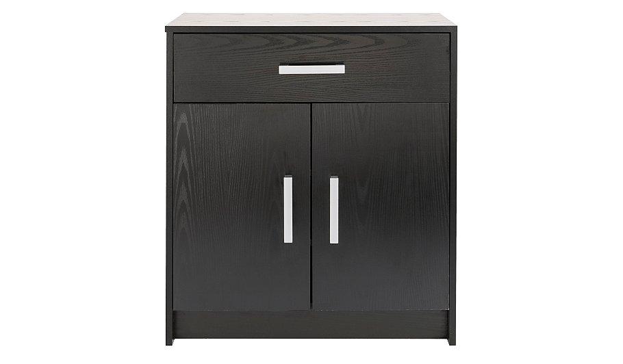 alton shoe storage unit black clearance george at asda. Black Bedroom Furniture Sets. Home Design Ideas