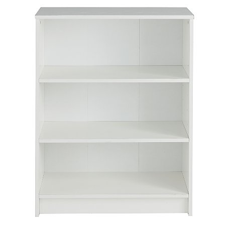 alton bookcase white office storage asda direct. Black Bedroom Furniture Sets. Home Design Ideas