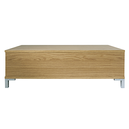 lowell 2 drawer occasional table oak effect coffee. Black Bedroom Furniture Sets. Home Design Ideas