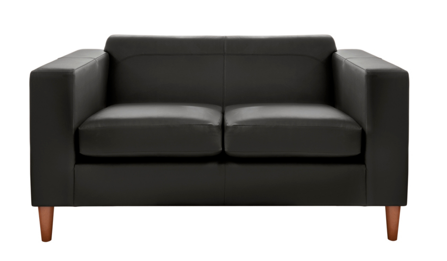Holborn Medium Leather Faced Sofa In Various Colours