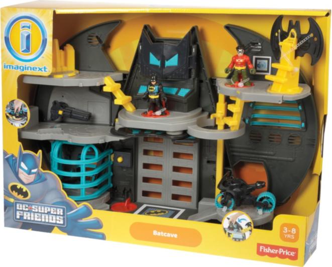 Fisher-Price Imaginext DC Super Friends Batcave | Kids ...