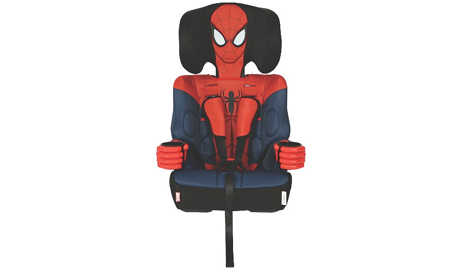kids embrace spiderman 123 car seat baby george at asda. Black Bedroom Furniture Sets. Home Design Ideas