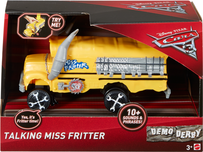 Disney Cars 3 Miss Fritter Vehicle Kids George At Asda