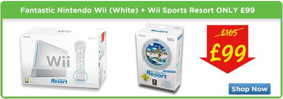 Nintendo Wii at a Fantastic Price £99
