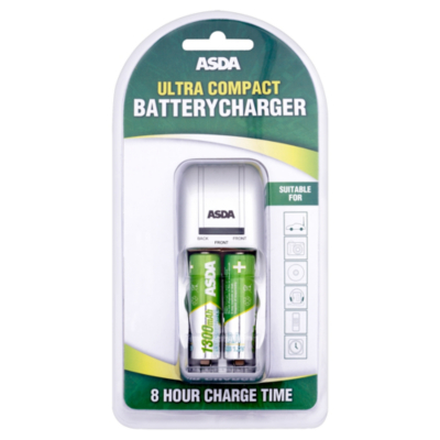ASDA Ultra Compact Battery Charger MW1282-13AA2