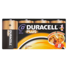 Duracell Plus D Batteries - 8 Pack