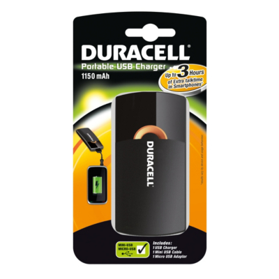 Duracell USB 3 Hour Battery Charger 81296700 product image