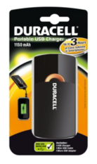 Duracell USB 3 Hour Battery Charger