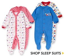 George Baby Sleepsuits