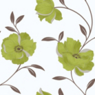OPERA Sophia Green Motif Wallpaper