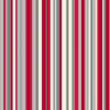 OPERA Sophia Stripe Red Wallpaper main view