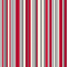OPERA Sophia Stripe Red Wallpaper