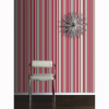 OPERA Sophia Stripe Red Wallpaper alternative view