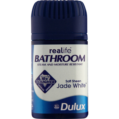 Bathroom Tester Jade White - 50ml, Whites