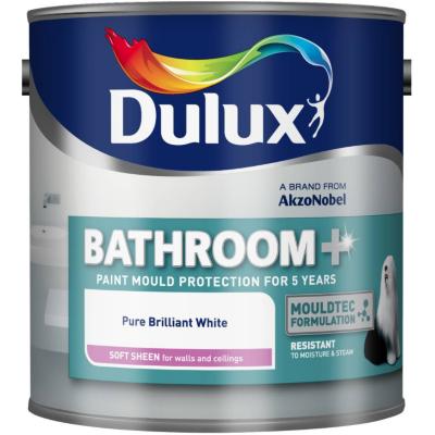 Bathroom Soft Sheen Pure Brilliant White -