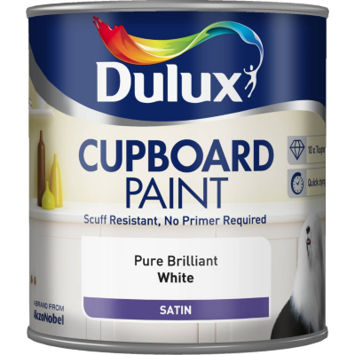 Cupboard Paint Pure Brilliant White -