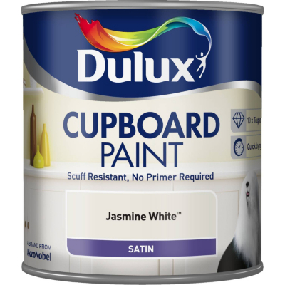 Cupboard Paint Jasmine White - 600ml,