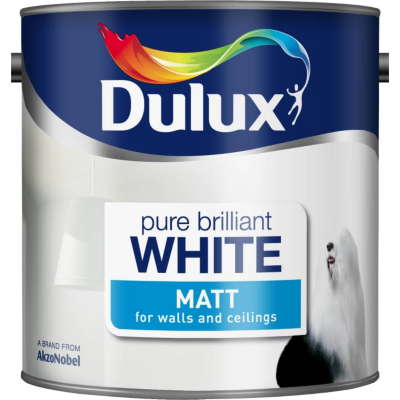 Matt Pure Brilliant White - 2.5L, Whites