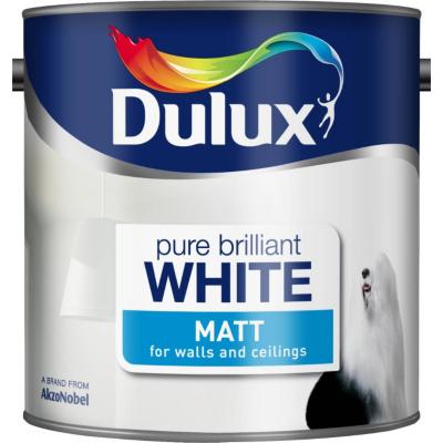 Matt Pure Brilliant White - 2.5L, Whites