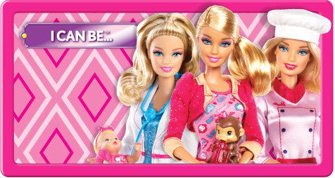 Barbie I can be...
