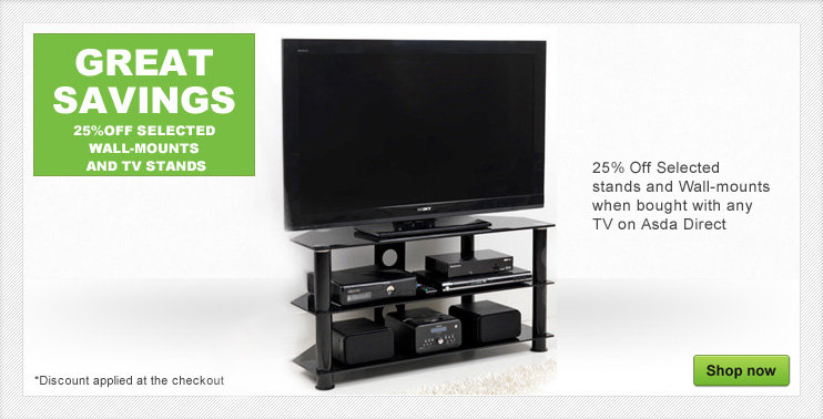 25% off TV stands