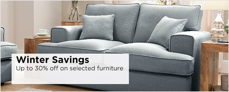 Winter savings -  30% off on selected furniture