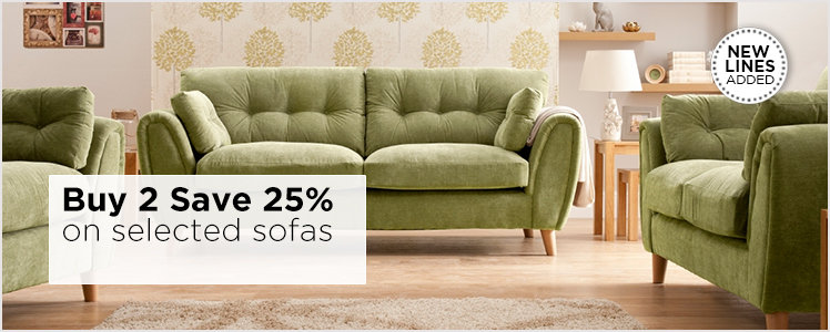 Save 25 per cent on selected furniture