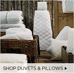Shop Duvets & Pillows