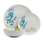 ASDA Florence Porcelain 12 Piece Dinner Set