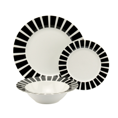 ASDA 12 Piece Milano Dinner Set, White KH5009001-6