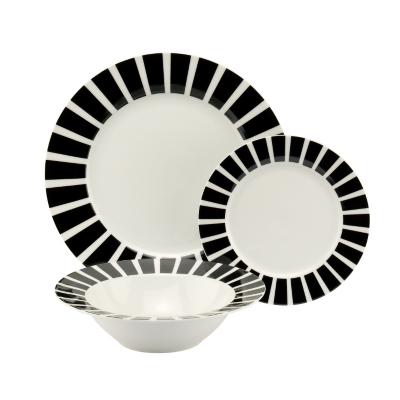 12 Piece Milano Dinner Set, White KH5009001-6