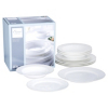 Elegant Living White Bone china 12 Piece Dinner Set  alternative view