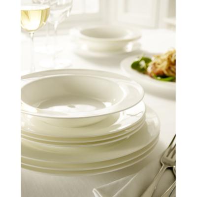 Elegant Living 12 Piece Bone China Dinner Set,