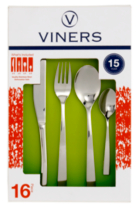 Viners Cloud Stainless Steel 16 Piece Cutlery Set