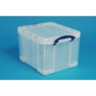 Really Useful Clear 35L Storage Box and Lid