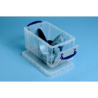 Really Useful Clear 8L Storage Box and Lid