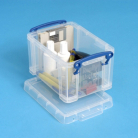 Really Useful Clear 1.6L Storage Box and Lid