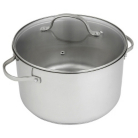ASDA Elegant Living Stainless Steel 26cm Stockpot
