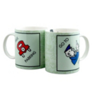 Creative Tops Monopoly Fine china 4 Piece Mug Set