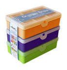 Wham 3 PK Plastic Storage Box