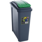 Wham Green Recycle Bin - 25L
