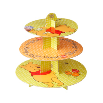 Disney Winnie the Pooh Cake Stand, Yellow BW00249