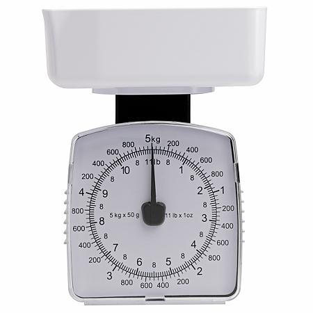george home white 5kg box kitchen scale baking asda direct. Black Bedroom Furniture Sets. Home Design Ideas