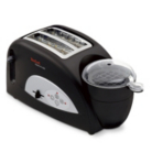 Tefal TT550015 Toast n Egg Black Two Slice Toaster with Egg Compartment