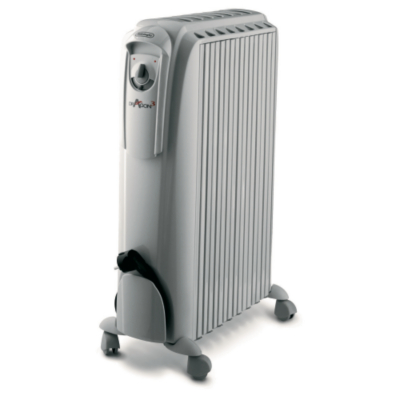 Delonghi TRD1025T 2.5KW TIMER White Oil Filled