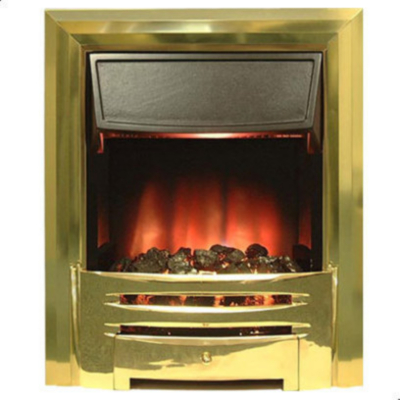 Modena HAMMOND Brass Electric Fire