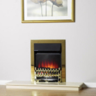 Katell Fulham Brass Electric Fire