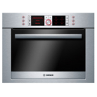 Bosch HBC86P753B Brushed Steel Integrated Compact Oven with Microwave - Electric