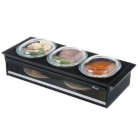 Hostess 392BL Side Server - Black